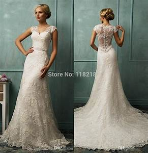Vestidos de renda novia sweetheart ivory lace bride for Cheap lace wedding dresses