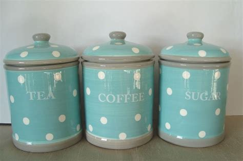 blue kitchen storage jars 25 best ideas about tea coffee sugar canisters on 4831