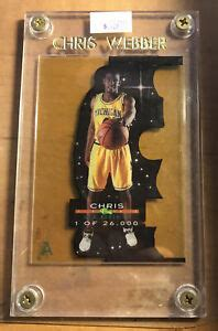 Maybe you would like to learn more about one of these? 1993-94 Chris Webber Classic Draft Picks Acetate Stars /26000 Rookie Card   eBay