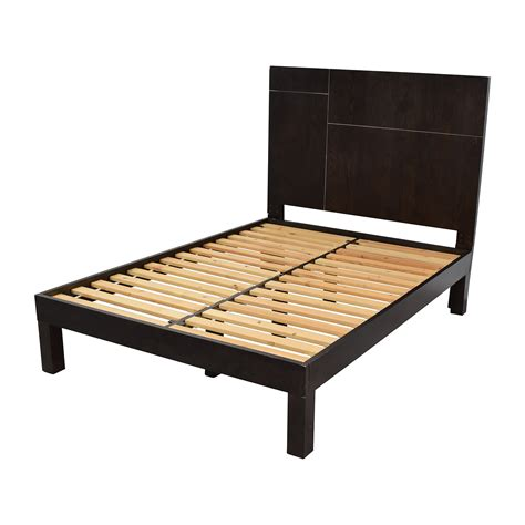 62% Off  West Elm West Elm Dark Brown Full Size Bed Frame. Rustic Industrial Dining Table. Wood Fire Pit Table. Costco Folding Table. Refurbished Dining Table. Easter Table Ideas. Drop Down Table. Computer Desk Black. Extendable Square Dining Table
