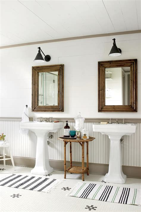 vintage bathroom ideas 15 ways with shiplap southern living