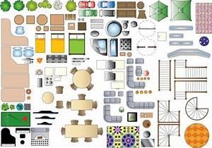 1 100 Scale Furniture Templates