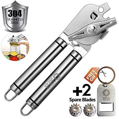 opener openers club arthritis seniors smooth edge manual stainless steel