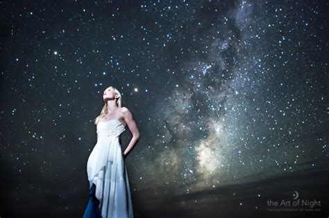 Under The Milky Way Girls By Starlight The Art Of Night