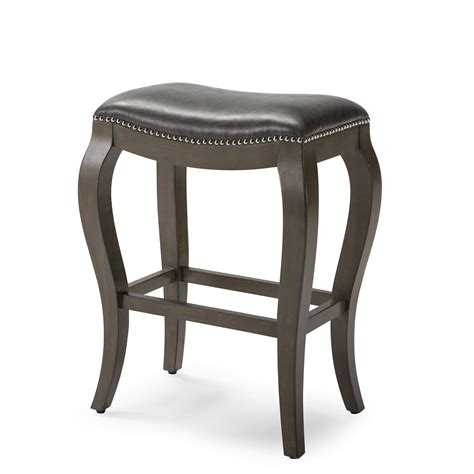 leather saddle bar stools round black leather saddle backless bar stool with brown wooden mixed chrome metal based legs