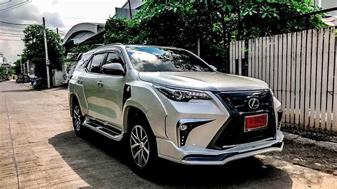 toyota fortuner modified lx sport wide body