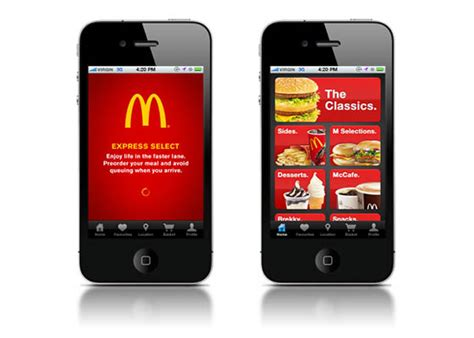 mcdonald s phone mobile payments at mcdonalds fast food may get a
