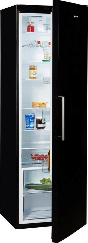 Kühlschrank 200 Liter Ohne Gefrierfach by Gorenje Gro 223 Raumk 252 Hlschrank R6192fbk Energieklasse A