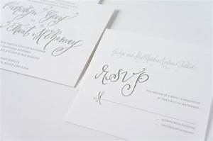 modern calligraphy invitation suite seabrook island wedding With wedding invitation calligraphy long island