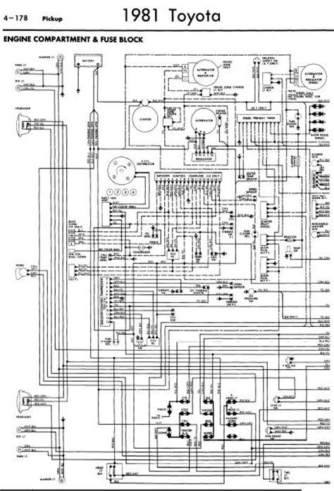 1980 Toyotum Truck Wiring Diagram by Repair Manuals Toyota 1981 Wiring Diagrams
