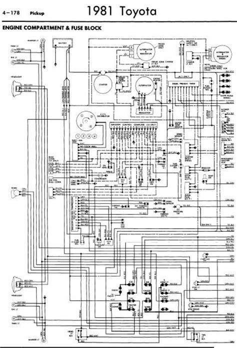 Repair Manuals Toyota Pickup Wiring Diagrams