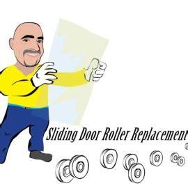 sliding door roller replacement  home improvement