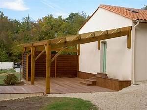 Abri De Terrasse En Bois : construire une pergola en bois pergola en bois comment ~ Dailycaller-alerts.com Idées de Décoration