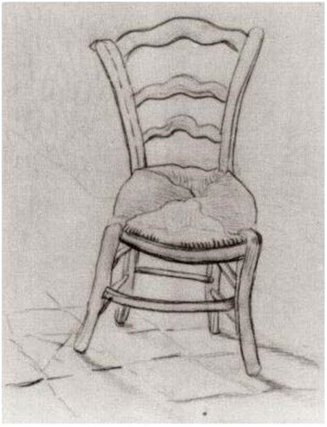 chair by vincent gogh 836 drawing pencil