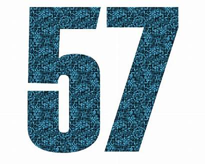 57 Number Label Odd Mathematical Measure Object