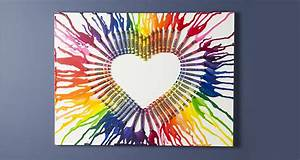 Crayon Art Wall Art Create