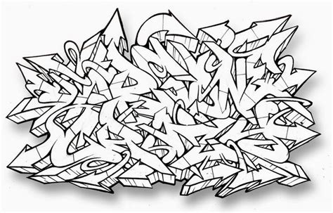 Abjad Graffiti Style :  Graffiti Alphabets
