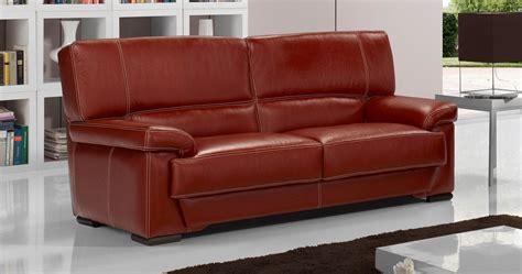 canapé en cuir arezzo canapé cuir buffle ou vachette personnalisable sur