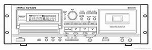 Tascam Cd-a500 - Manual  Reverse Cassette