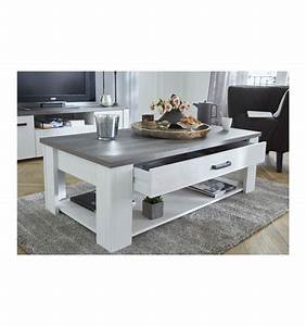 Table Basse 120 X 64 Cm Marquis Rectangulaire Le Depot