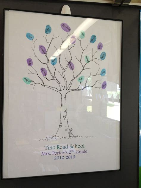 classroom friendship tree preschool arts crafts