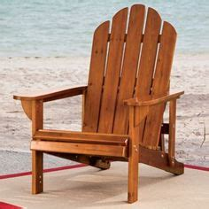 leisure reclining adirondack chair with pull out ottoman