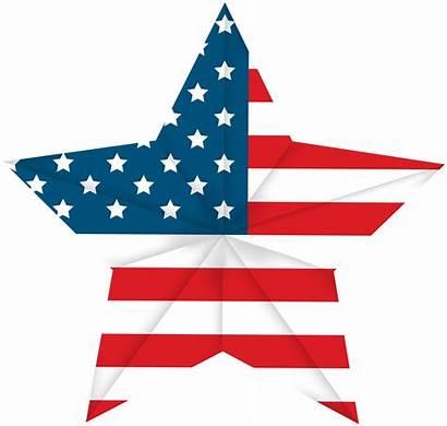Flag Star Clip Usa Clipart American Resolution