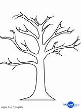 Coloring Tree Fig Pages Dead Printable Getcolorings sketch template