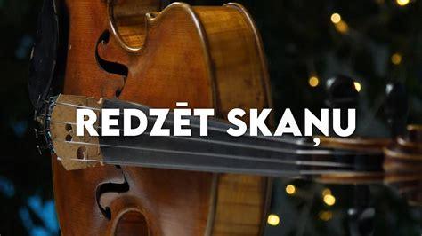 REDZĒT SKAŅU. Latvijas skolas soma - YouTube