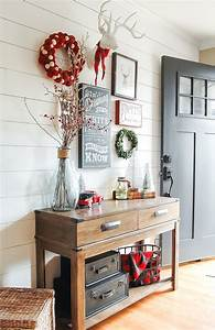 Christmas, Entryway, Gallery, Wall