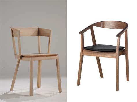 chaise en bois meuble en bois clair bois blond ou bois foncé la