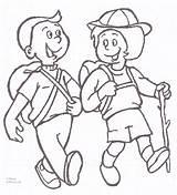 Hiking Children Coloring Contest Appalachian Trail Duncannonatc sketch template