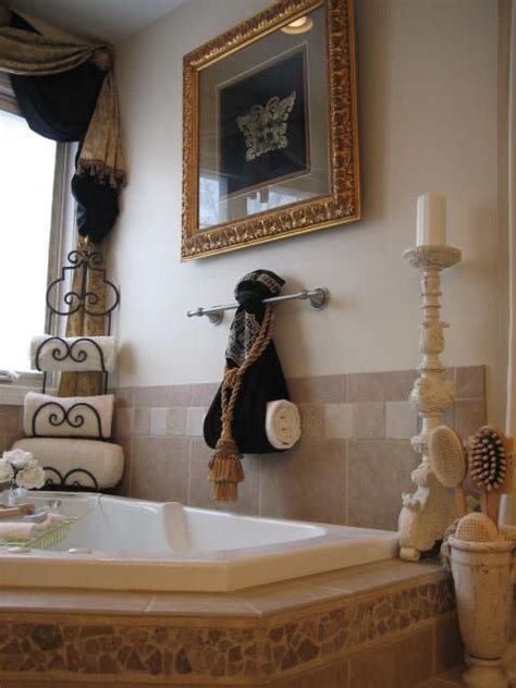 Bathroom Towel Decorating Ideas by Master Bath With An In Quot Spa Quot Rational