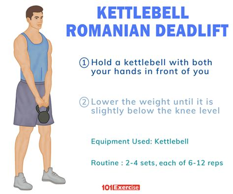 deadlift kettlebell romanian leg exercises tips