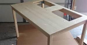 Table Transformable Ikea : creative ideas how to transform an ikea table into a lego table i creative ideas ~ Teatrodelosmanantiales.com Idées de Décoration