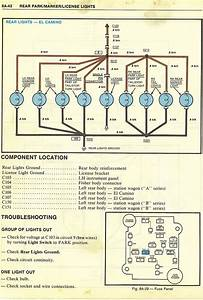 1985 Chevy El Camino Wiring Diagram