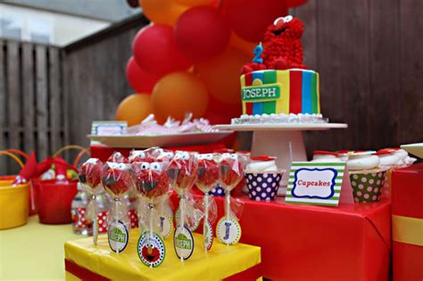 Elmo 2nd Birthday Party Ideas Home
