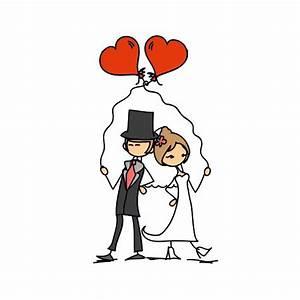 Dessin Couple Mariage Couleur : mariage dessin rigolo ~ Melissatoandfro.com Idées de Décoration