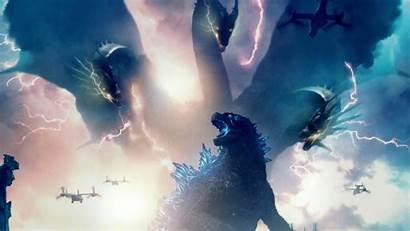 Godzilla Monsters King 4k Ghidorah Poster Resolution