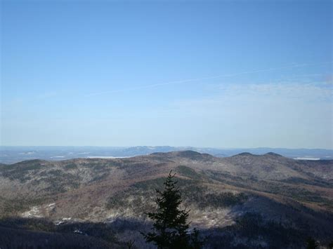 South Doublehead North Doublehead New Hampshire April