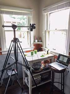 Camera Equipment for Food Bloggers | in process photo setup for food photography | Edible ...
