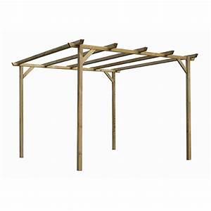 Pergola Bois Leroy Merlin : construction d 39 une pergola en bois communaut leroy merlin ~ Premium-room.com Idées de Décoration