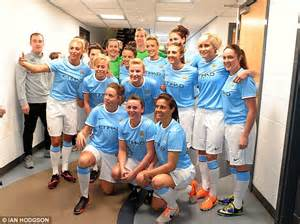 Star-studded girls! Man City women's side relaunch ahead