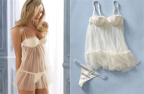 Sheer Bridal Lingerie Victorias Secret