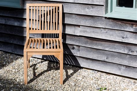 comfortable teak dining chair matching bench suits