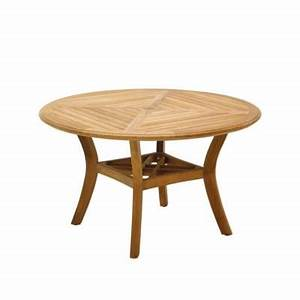 Halifax round teak dining table by gloster frontgate for Furniture covers halifax
