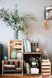 Decorating, With, Wine, Crates, U00b7, Happy, Interior, Blog