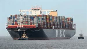 World's largest container ship heads for Suffolk