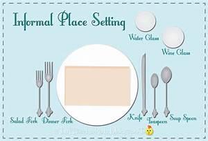Informal Table Settings  U0026 Holiday Table Setting Where