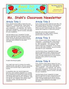 Office Cover Letter Template How To Create A Daycare Newsletter Great Idea A Monthly